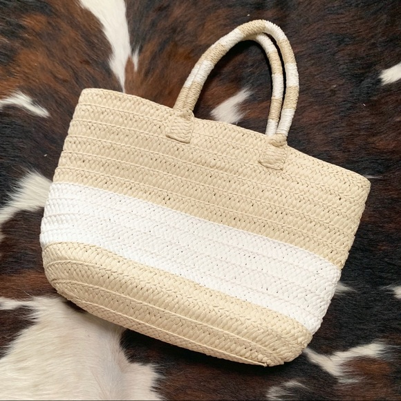 Altru Handbags - Altru Straw Woven Handbag Purse